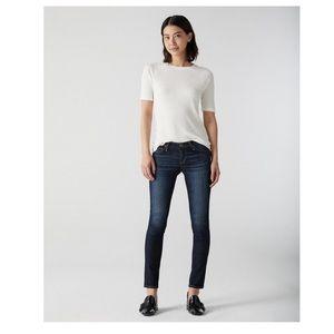 AG Stilt cigarette skinny jeans 28R